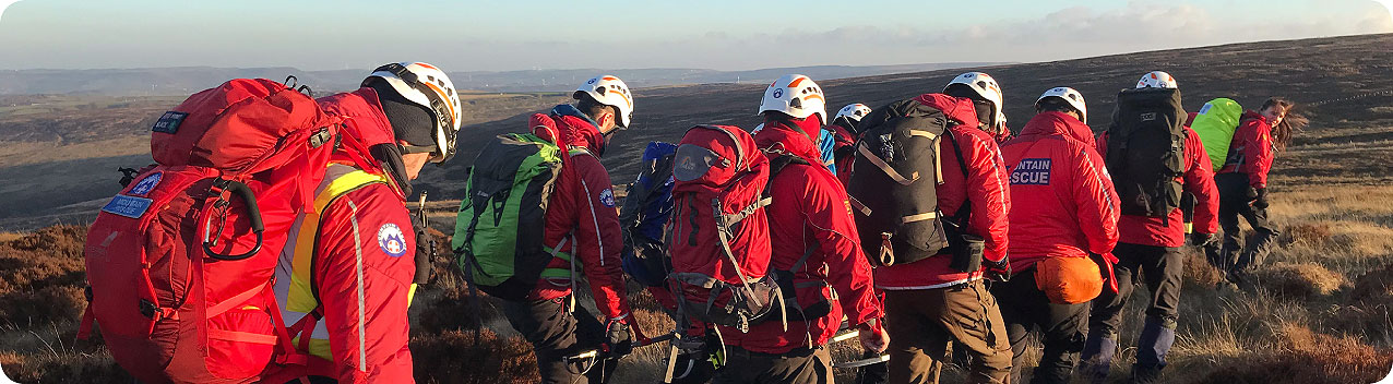 Holme Valley Mountain Rescue Team